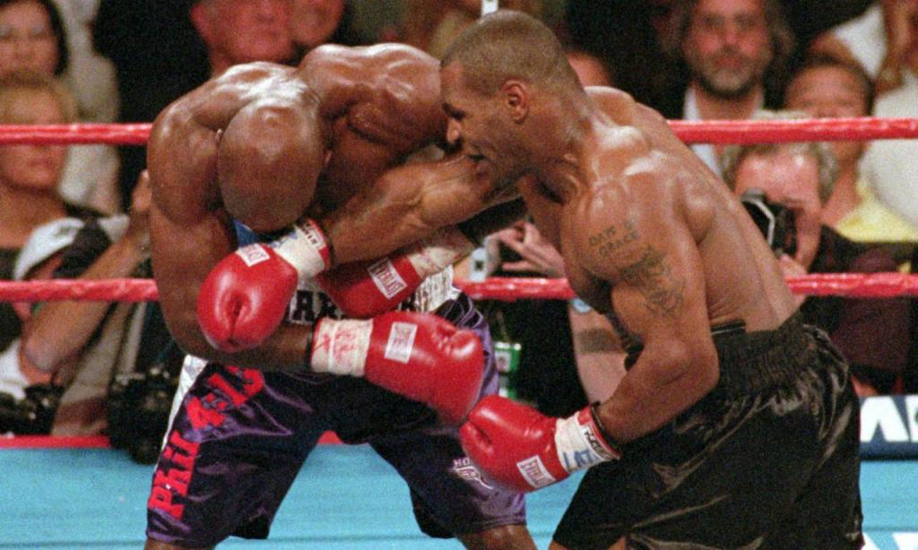 Holyfield vs. Tyson (Associated Press)