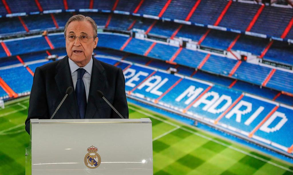 8.º: Florentino Pérez (AP/Manu Fernandez)