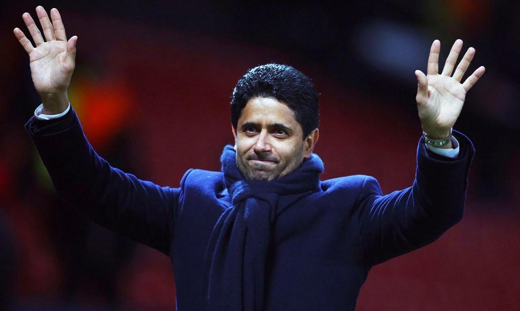 1.º: Nasser al-Khelaifi (AP/Dave Thompson)