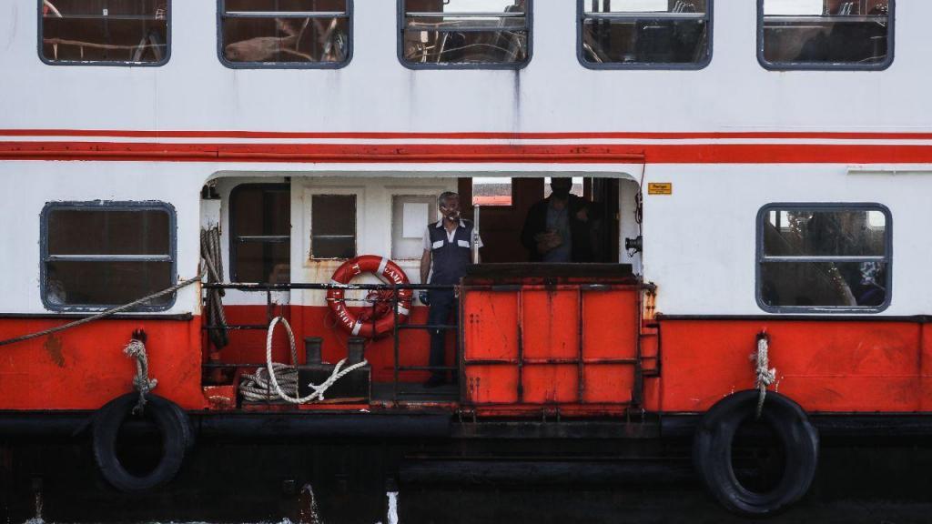 Covid-19: Transportes públicos na margem sul