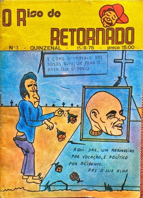 Arquivo Ephemera: desenhos de José Vilhena (1976)