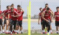 Treino do Benfica (site Benfica)
