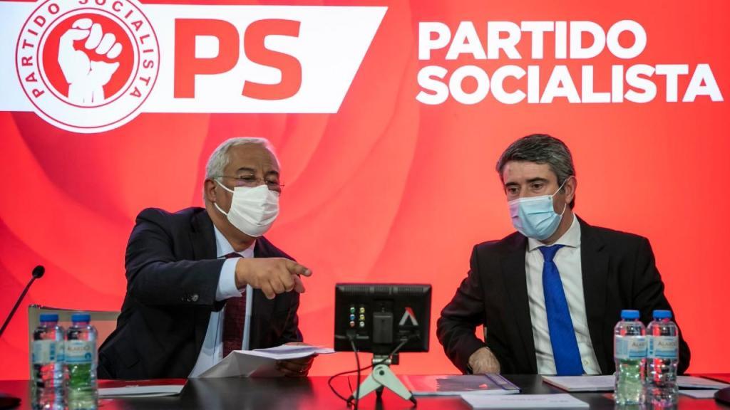 António Costa e José Luis Carneiro