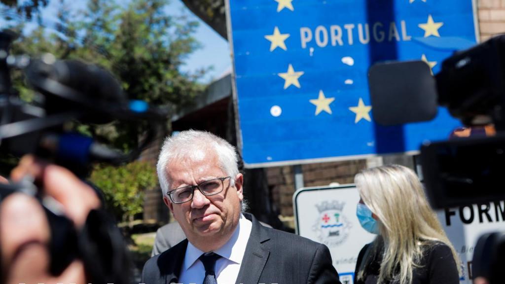 Ministro Eduardo Cabrita em Vilar Formoso