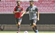 Benfica volta aos treinos no Estádio da Luz (SL Benfica)