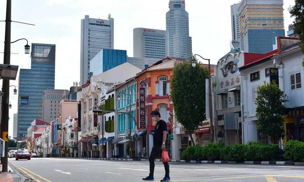 Singapura (AP/YK Chan)