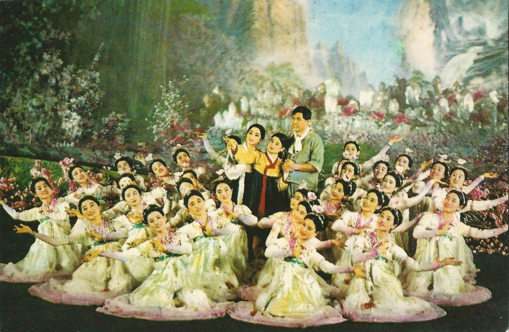Arquivo Ephemera: ópera na Coreira do Norte