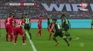 A derrota do Leverkusen com o Wolfsburgo e o nulo de Bremen
