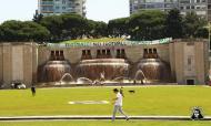 Torcida Verde protesta contra regresso do futebol