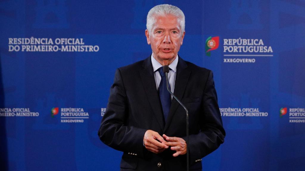 Presidente da CIP (Confederação Empresarial de Portugal), António Saraiva