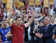 Despedida de Francesco Totti