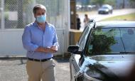 Bruno de Carvalho à entrada do Tribunal do Monsanto para a leitura do acórdão do processo do ataque à academia do Sporting (António Pedro Santos/LUSA)
