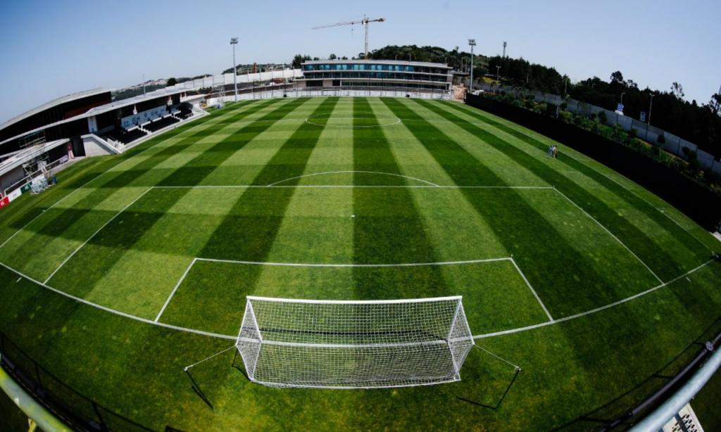 Bancada virtual na Cidade do Futebol (FPF)