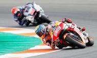 Jorge Lorenzo na MotoGP, no Grande Prémio de Espanha em 2019 (AP/Alberto Saiz)