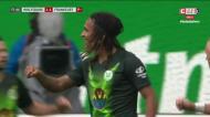 Cabeçada de Mbabu dá empate ao Wolfsburgo frente ao Eintracht