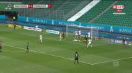 O resumo do Eintracht-Wolfsburgo, com André Silva em destaque