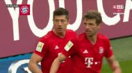 Show em Munique: Lewandowski finaliza grande jogada coletiva do Bayern