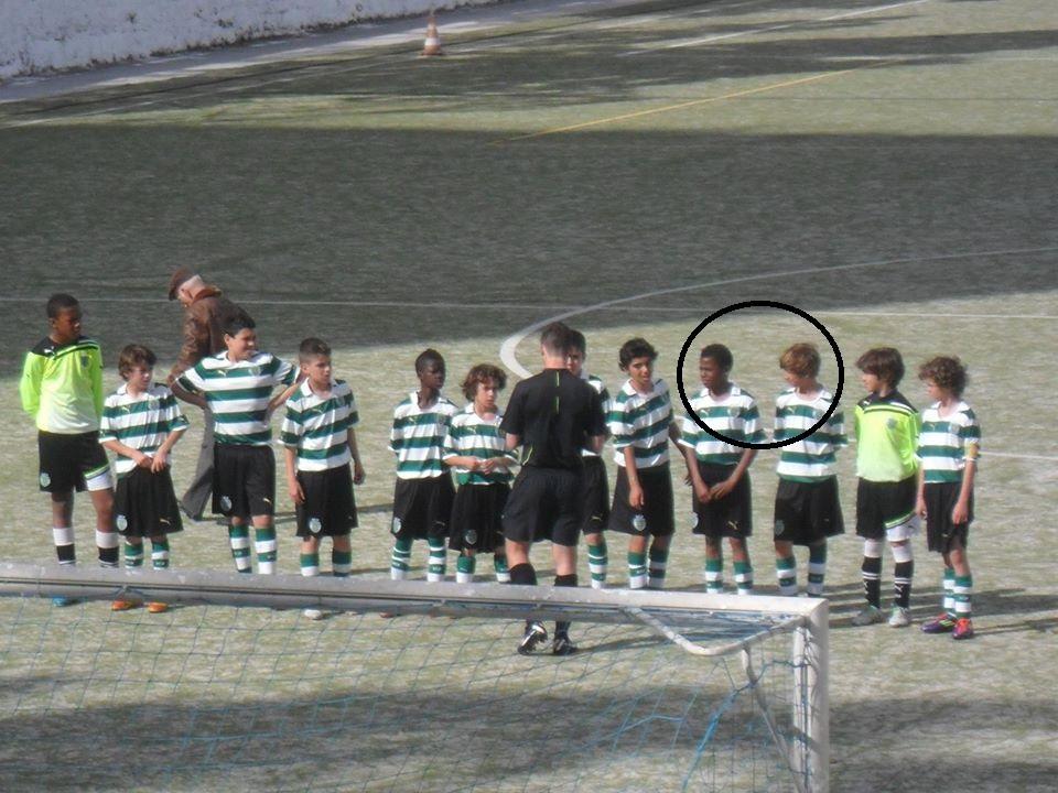Nuno Tavares e Tiago Gamito no Sporting