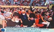 António Costa assistiu ao espetáculo «Deixem o pimba em paz»