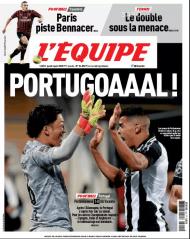 L'Équipe faz manchete com o Portimonense-Gil Vicente