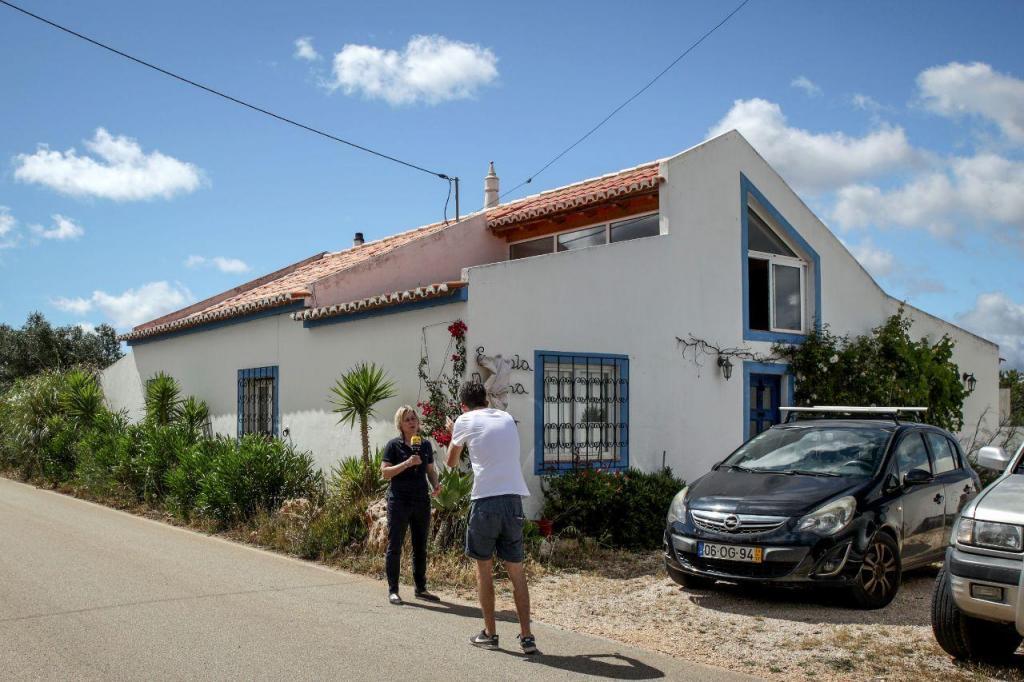 A casa utilizada pelo suspeito de raptar Madeleine McCann enquanto esteve a viver no Algarve