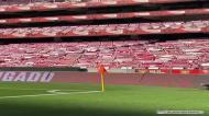 Cachecóis dos adeptos dão outro colorido ao Estádio da Luz