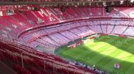 O Estádio da Luz está assim para o regresso da Liga