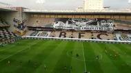 O ambiente no Estádio do Bessa antes do Boavista-Moreirense