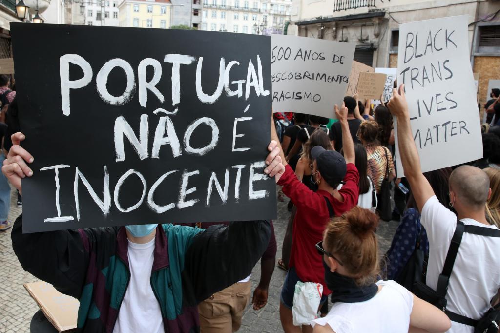 Manifestação em Lisboa contra o racismo