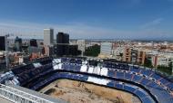 Obras no Santiago Bernabéu
