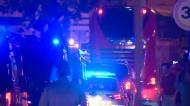 Autocarros do Benfica saem escoltados de Portimão