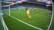André Silva assiste e Bas Dost faz 1-1 no Hertha-Eintracht