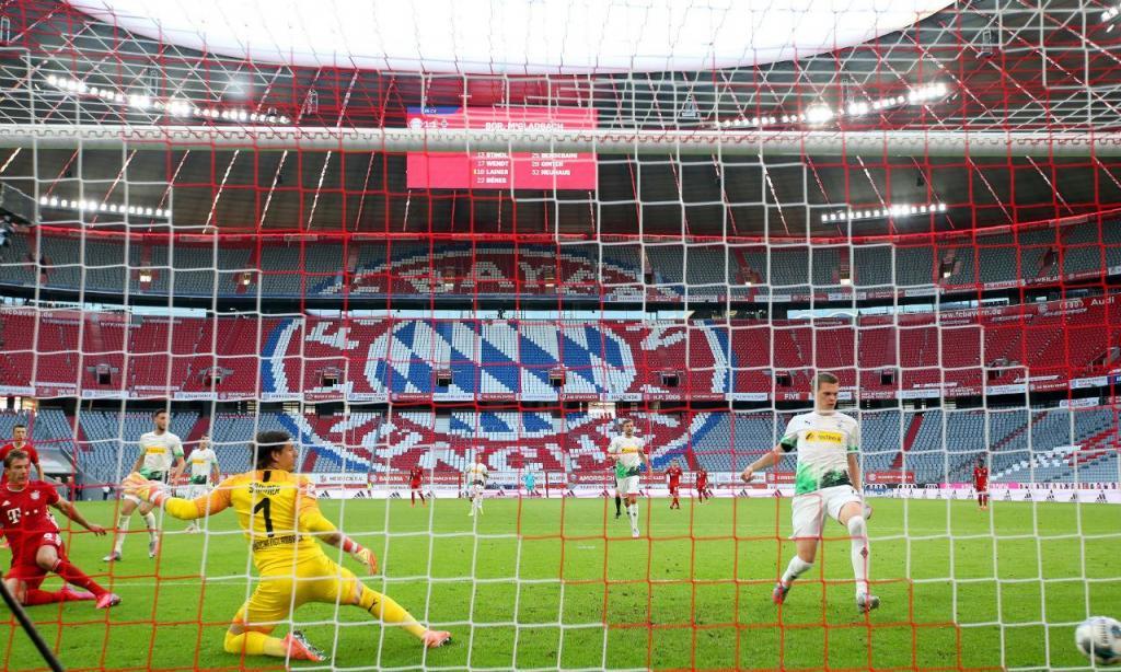 Bayern Munique-B. Monchengladbach