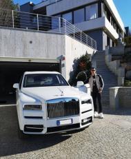 RONALDO: Rolls-Royce Cullinan