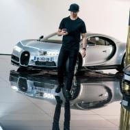 RONALDO: Bugatti Chiron