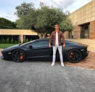 RONALDO: Lamborghini Aventador