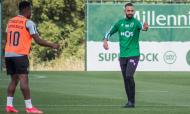 Sporting prepara receção ao Tondela. Leões com quatro ausências no treino desta segunda-feira: Mathieu, Vietto, Luiz Phellype e Battaglia (Sporting CP)