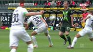 Hofmann conclui contra-ataque de classe e dá vantagem ao Monchengladbach