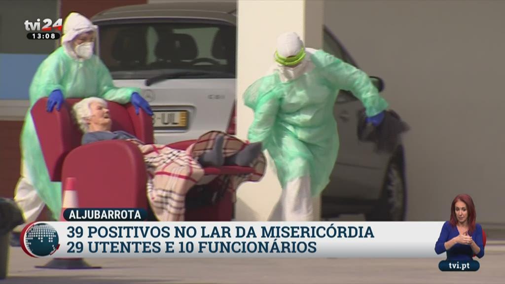Covid-19: Lar da Misericórdia de Aljubarrota com 39 casos positivos