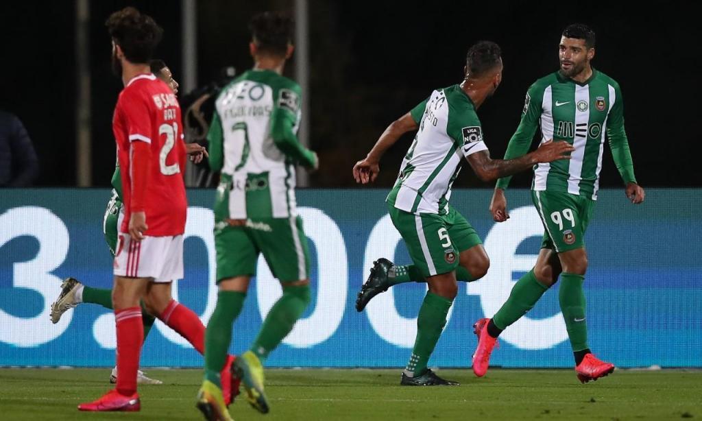 Rio Ave-Benfica (José Coelho/Lusa)