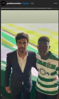 Nuno Mendes e Miguel Pinho (instagram)