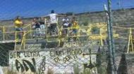 Claque do Beira Mar foi despedir-se desta forma do Mário Duarte