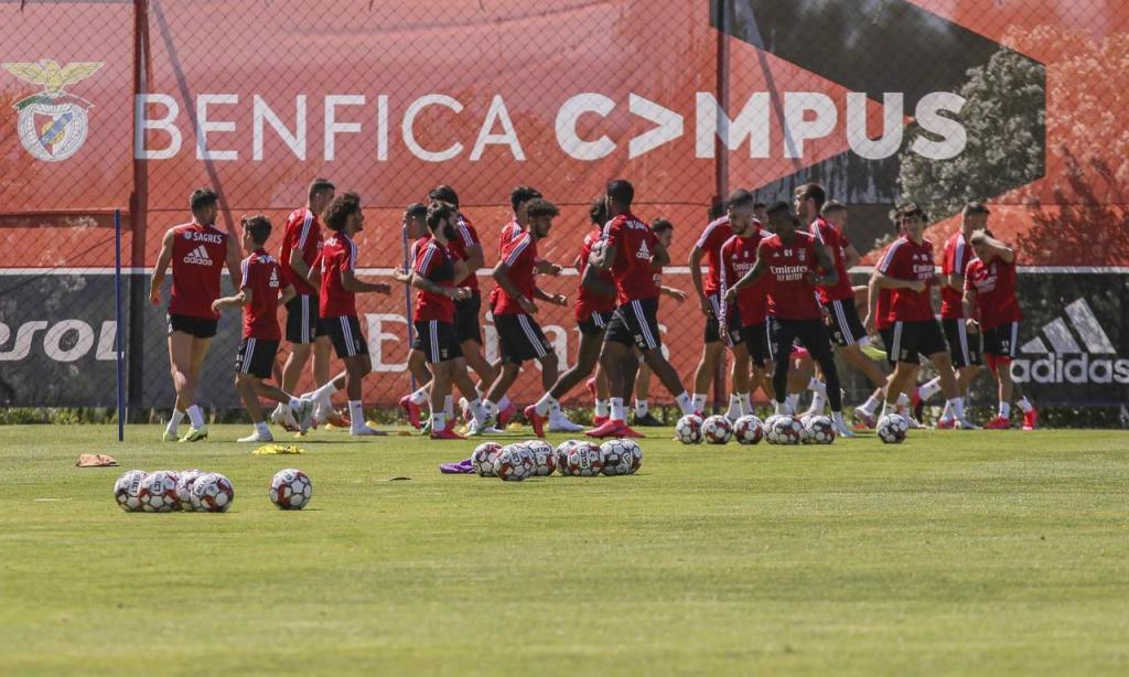 Benfica treinou no Seixal