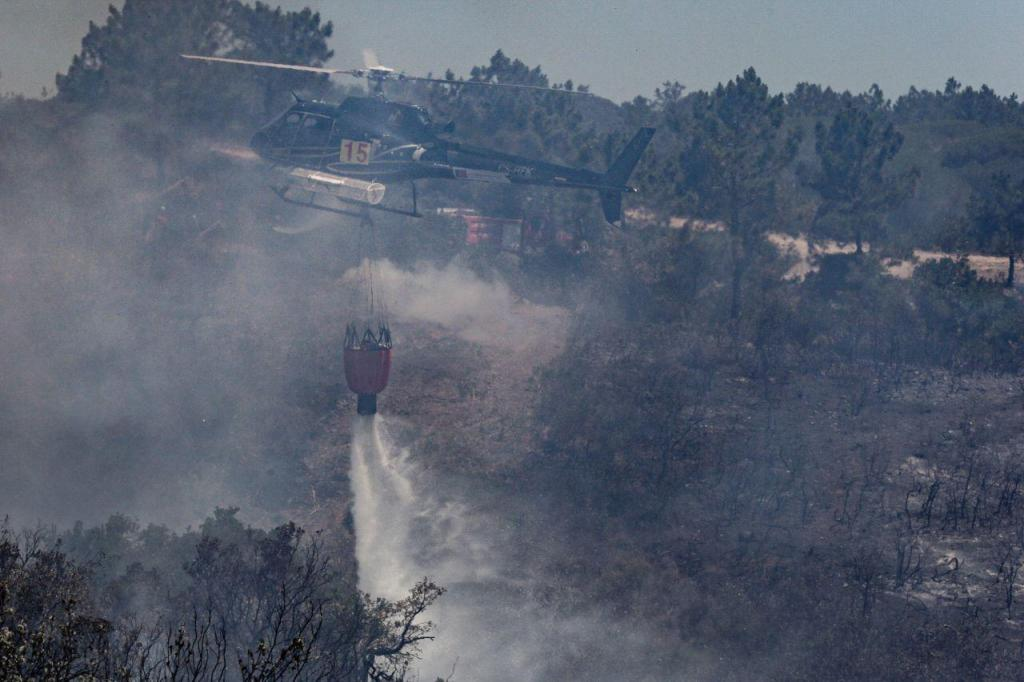 Incêndio em Vila do Bispo