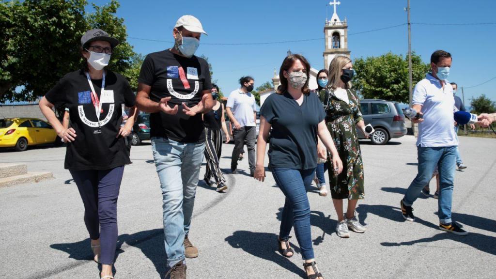 Catarina Martins visita zonas afetadas pelos incêndios de 2017