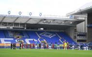 Everton e Liverpool no dérbi de Merseyside