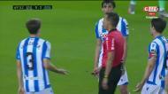O golo polémico de Benzema no Real Sociedad-Real Madrid
