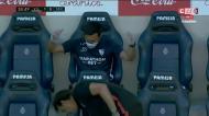 Sevilha empata com golaço de Escudero: «Vai já daqui!»