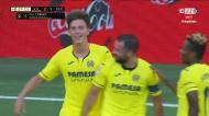 Villarreal volta à vantagem no último lance da primeira parte