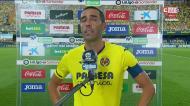 A voz embargada de Soriano no regresso depois de três anos lesionado